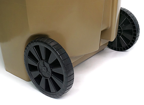 GEO Plastics - Quick Release Injection Molded Wheels